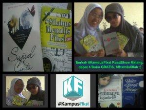 KAdo dari #KampusFiksi (maybe sering beli karya dari penulis Diva, rizki juga gak kemana-mana, 5 buku Free For me :)